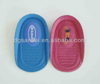 polyfoam heel cup insole, sponge heel cushions just for your heel SW1013