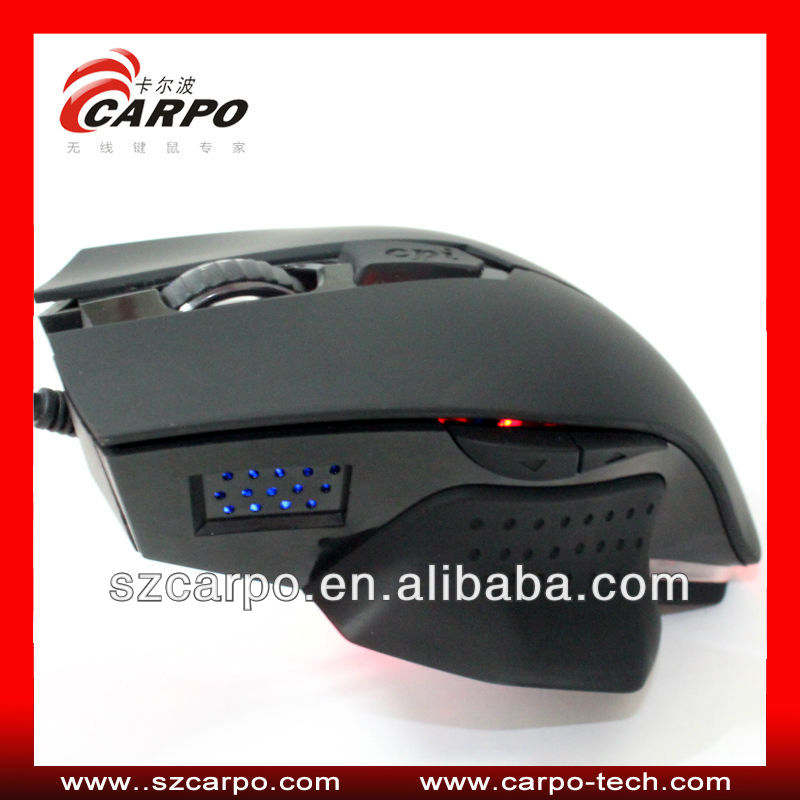 Computer peripheral led wired gaming mouse free samples C502