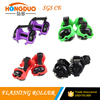 HOT!two wheels kids roller falshing roller