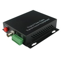 1 channel Television HDCVI ethernet rs485 video digital to analog audio converter