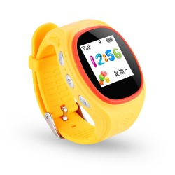 1.2 inch Color Screen Kids GPS Smart Watch for Android OS and IOS with and without Wifi