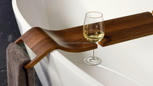 Bamboo Wood Luxury Bathtub Caddy Bath Caddy