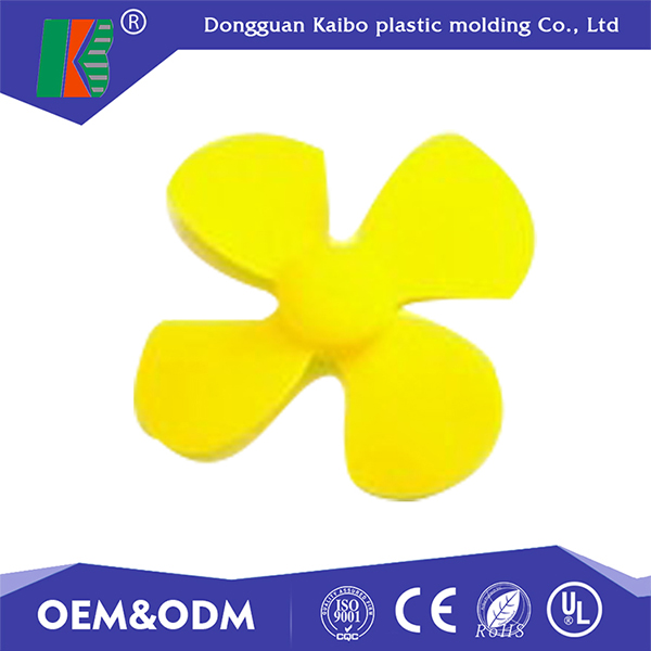 Top quality ABS plastic injection mold small plastic fan blade with UL