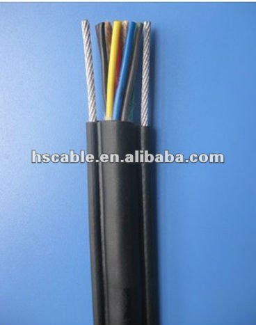 High Qunality Steel Supporting Crane Pendant Control Cable