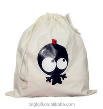Customized Drawstring Cotton Bag, High Quality With Low Price