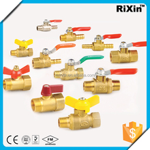 "RX 1170 3/8"" economical brass isolation ball valve 3/8"" 4 inch ball valve 3/8"" ball valve seat ring"