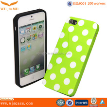 tpu case with stylish dots New fashion tpu case wholesale