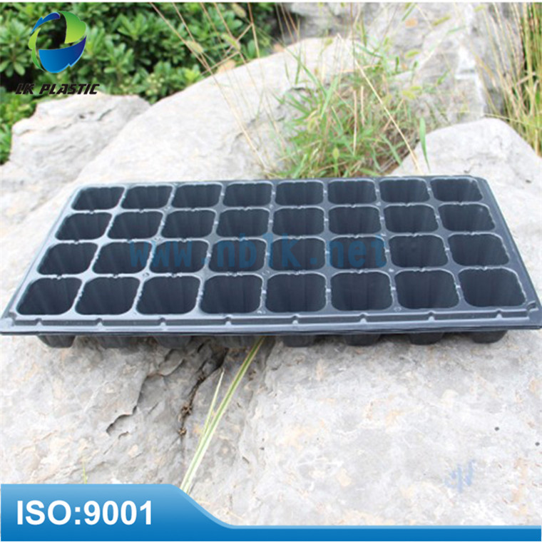 105 cells black growing vegetables containers