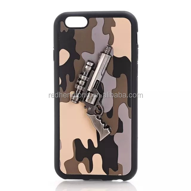 tpu gun case army phone case cover for iphone 6s
