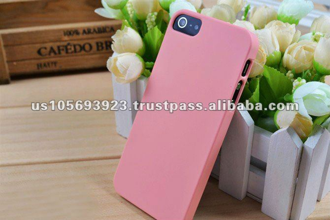 Factory Price Rubberized Hard PC Case For Iphone5
