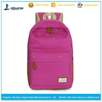 Canvas leisure fashion backpack, travel bag, school bag