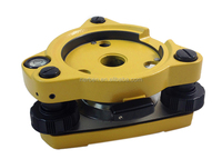 Three-Jaw Yellow Tribrach W/OUT Optical Plummet Fits Sokkia Nikon Pentax Topcon