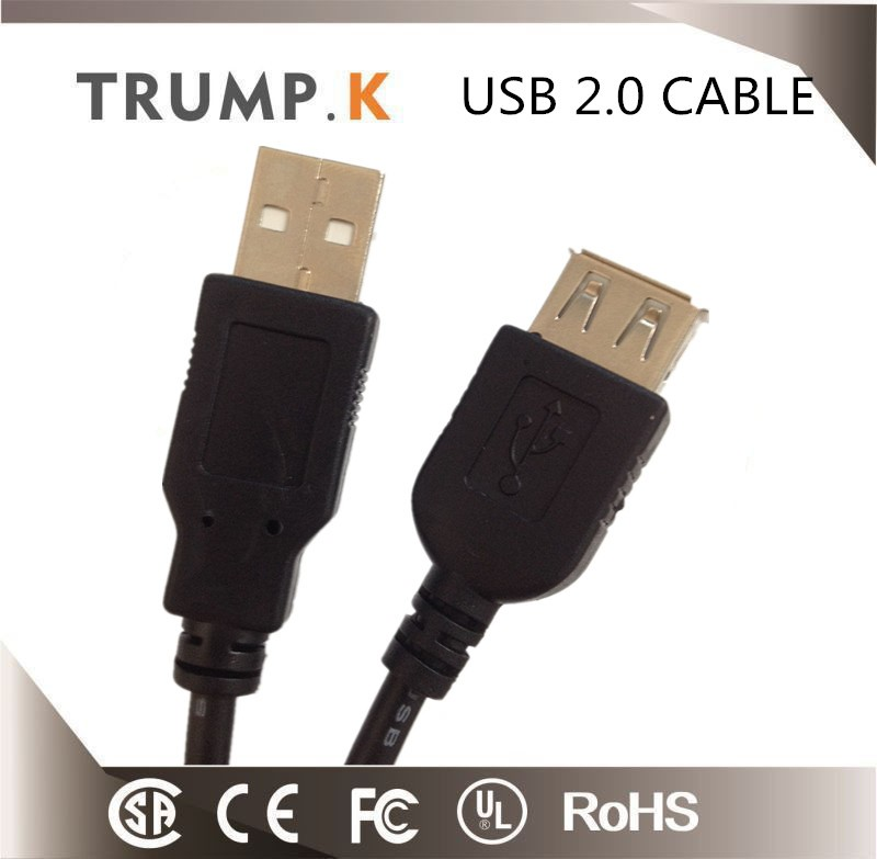 Colorful PVC Insulated USB Cable for Mobile Phone