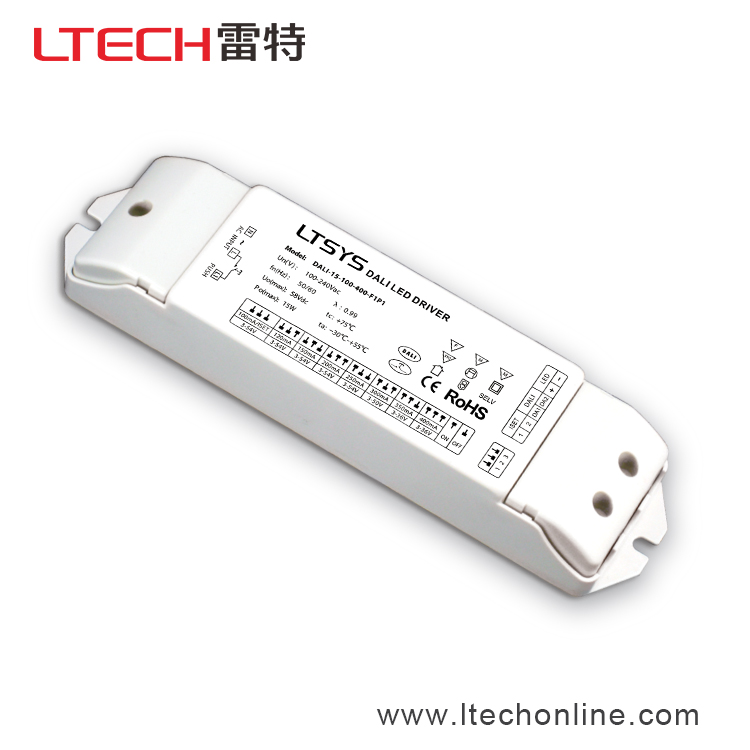 24v different current Led Driver Constant Current DALI-15-100-400-F1P1