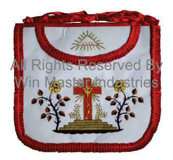 Scottish Rite Rose Croix 18th Degree Apron