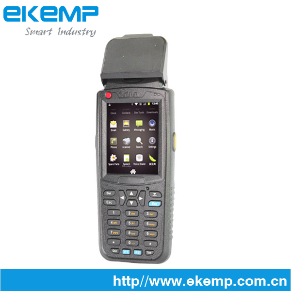 EKEMP handheld ticketing machine with touch screen,gprs / wifi/ bluetooth and RFID reader M3