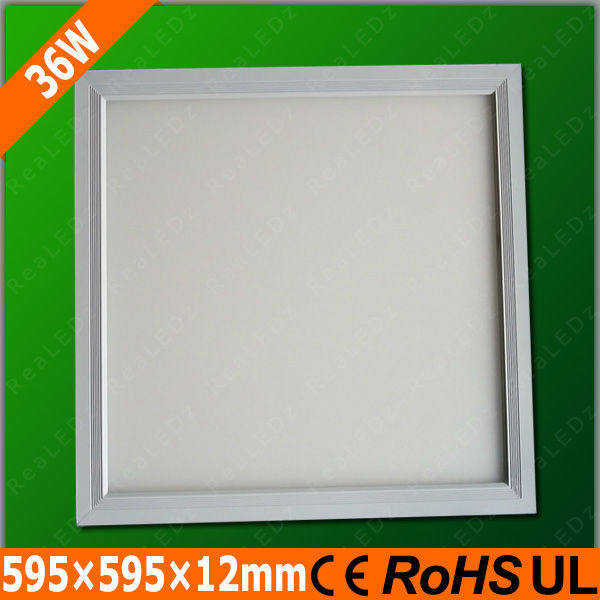 Energy Saving square flat 60x60 36W 600x600 ceiling panel light low profile recessed Ceiling LED Panel Light