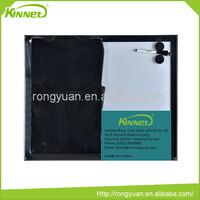 Black painted MDF frame combo magnetic writing board