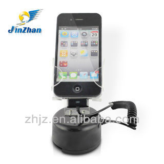 2013 Alarmed display holder good idea new product for mobile phone