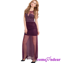 Hot OEM Factory New Design Adult Girls Party Sex Lady Dress