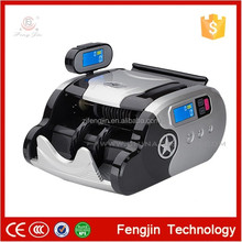 2016 nice price of automatic money sorter/cleaning black dollar with bill counter sensor