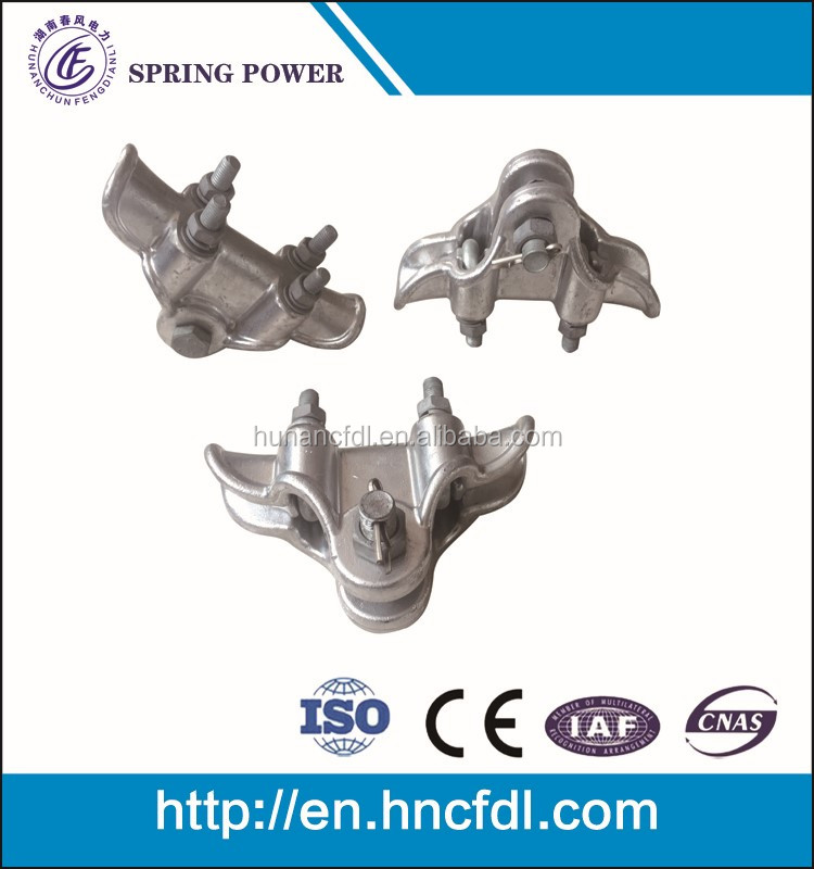 low voltage cable suspension clamp / tension clamp