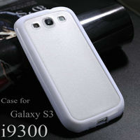 Original custom silicone pc case for galaxy s3 i9300,stylish pc+tpu case for galaxy s3 i9300