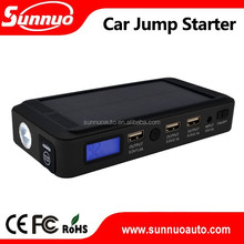 USB(c) charger 12v emergency Car Jump Starter Solar Panel Car battery jump starter
