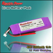3200mAh 11.1V 40C RC LIPO Battery Packs