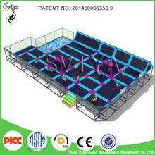 Top Sale Cheap Gymnastic Professional Trampoline Equipment with Dodgeball