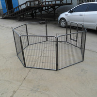 Heavy Duty Strong Pet Puppy Rabbit Dog Cat Cage Play Pen Crate