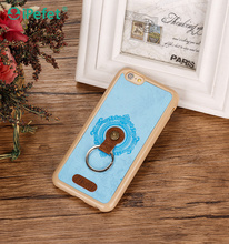 Factory outlet soft tpu case for iPhone 6s with ring holder