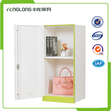 Bedroom metal clothes cabinet small children steel locker