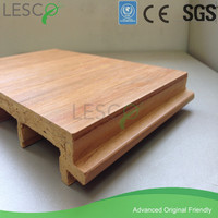 plastic panels outdoor wood side