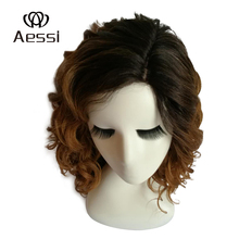 Low to $9!The last 3 days discounts! Heat Resistant Synthetic hair full lace wig, Synthetic wig and synthetic lace front wig