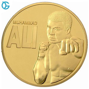 New Design 3D Custom Gold Challenge Metal Coin