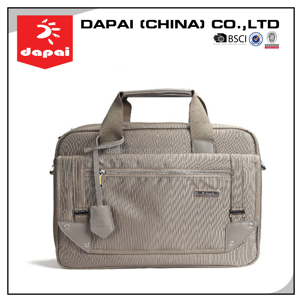 Men Cool Grey Laptop Cases Computer Sleeve Bag Business Briefcase