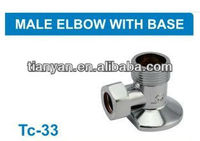 PEX PIPE FITTING MALE ELBOW WITH BASE 2