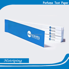 Hot sale perfume test paper fragrance blotter/smelling test paper/perfume tester strips