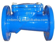 Flexible disc swing type check valve