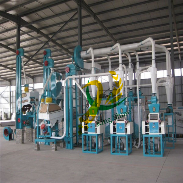 maize processing machine for maize flour/maize meal