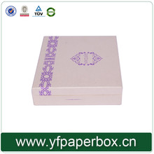 China supplier custom design book shape box for diamond packaging