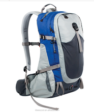 China wholesale custom climbing hiking backpack sports backpack manufacturer with shoe compartment