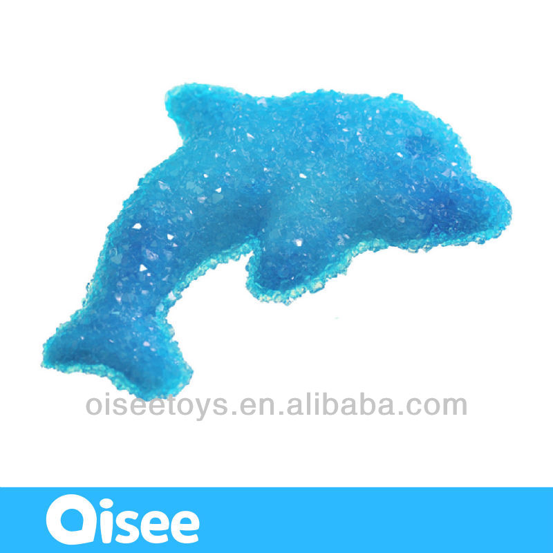 best selling gifts for kids to learn science / funny handmade toy / creative artcraft - crystal dolphin