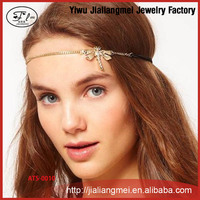 Dragonfly small fresh fashion rhinestone jewelry hair band forehead hair accessories