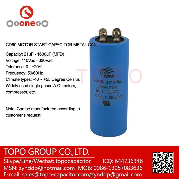 Aluminum Electrolytic Capacitor 150uf 250v Cd60 Capacitor