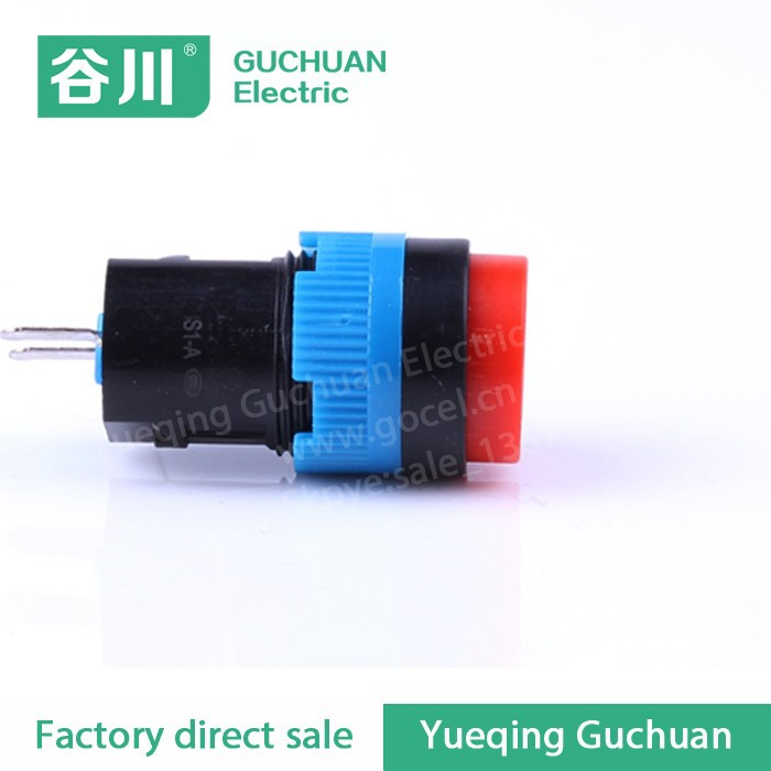 Professional design two position plastic led Pushbutton switches