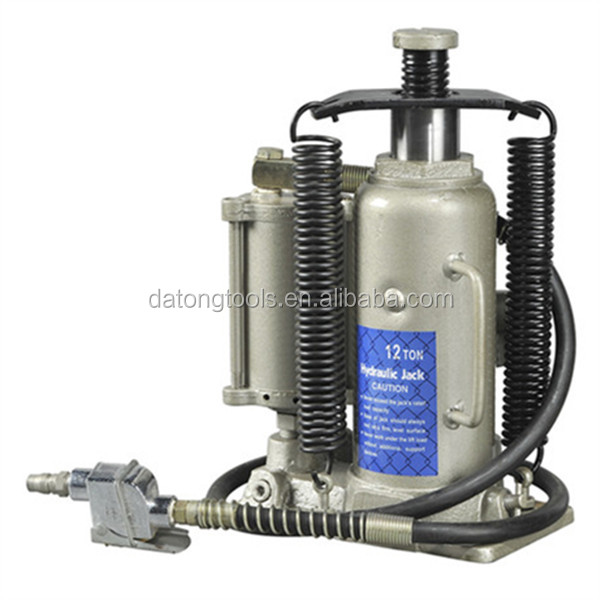 12 Ton pneumatic bottle jack