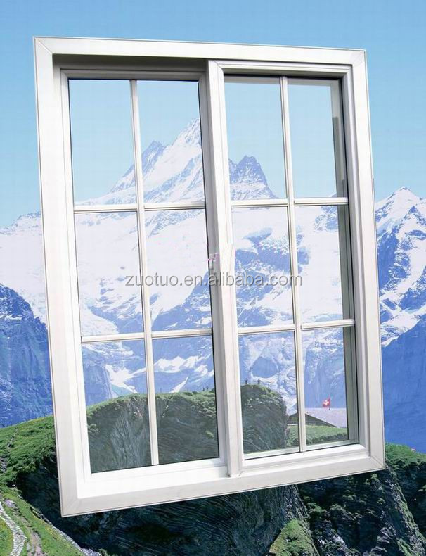 Upvc cheap house windows for sale pvc sliding window for Cheap home windows