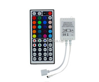 LED RGB controller 44 keys IR remote control 12V dimmer for LED strip